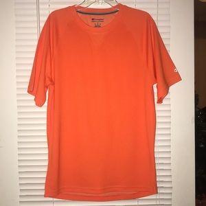Orange Champion shirt
